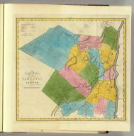 Map of the County of Ulster. By David H. Burr. Published by the Surveyor General, pursuant to an Act of the Legislature. Entered according to an Act of Congress Jany. 5th. 1829 by David H. Burr of the State of New York. Engd. by Rawdon, Clark & Co., Albany & Rawdon, Wright & Co., New York.