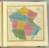 Map of the County of Sullivan. By David H. Burr. Published by the Surveyor General, pursuant to an Act of the Legislature. Entered according to an Act of Congress Jany. 5th. 1829 by David H. Burr of the State of New York. Engd. by Rawdon, Clark & Co., Albany & Rawdon, Wright & Co., N. York.