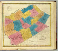 Map of the County of Delaware. By David H. Burr. Published by the Surveyor General, pursuant to an Act of the Legislature. Entered according to an Act of Congress Jany. 5th. 1829 by David H. Burr of the State of New York. Engd. by Rawdon, Clark & Co., Albany & Rawdon, Wright & Co., N.Y.