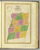 Map of the County of Rensselaer. By David H. Burr. Published by the Surveyor General, pursuant to an Act of the Legislature. Entered according to an Act of Congress Jany. 5th. 1829 by David H. Burr of the State of New York. Engd. by Rawdon, Clark & Co., Albany & Rawdon, Wright & Co., New York.