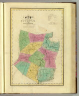 Map of the County of Schoharie. By David H. Burr. Published by the Surveyor General, pursuant to an Act of the Legislature. Entered according to an Act of Congress Jany. 5th. 1829 by David H. Burr of the State of New York. Engd. by Rawdon, Clark & Co., Albany & Rawdon, Wright & Co., N.Y.