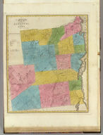 Map of the County of Essex. By David H. Burr. Published by the Surveyor General, pursuant to an Act of the Legislature. Entered according to an Act of Congress Jany. 5th. 1829 by David H. Burr of the State of New York. Engd. by Rawdon, Clark & Co., Albany & Rawdon, Wright & Co., New York.