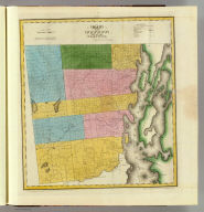 Map of the County of Clinton. By David H. Burr. Published by the Surveyor General, pursuant to an Act of the Legislature. Entered according to an Act of Congress Jany. 5th. 1829 by David H. Burr of the State of New York. Engd. by Rawdon, Clark & Co., Albany & Rawdon, Wright & Co., N. York.