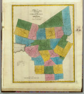 Map of the County of Oneida. By David H. Burr. Published by the Surveyor General, pursuant to an Act of the Legislature. Entered according to an Act of Congress Jany. 5th. 1829 by David H. Burr of the State of New York. Engd. by Rawdon, Clark & Co., Albany & Rawdon, Wright & Co., N.Y.