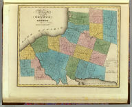 Map of the County of Oswego. By David H. Burr. Published by the Surveyor General, pursuant to an Act of the Legislature. Entered according to an Act of Congress Jany. 5th. 1829 by David H. Burr of the State of New York. Engd. by Rawdon, Clark & Co., Albany & Rawdon, Wright & Co., N.Y.