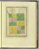 Map of the County of Cortland by David H. Burr. Published by the Surveyor General, pursuant to an Act of the Legislature. Entered according to an Act of Congress Jany. 5th. 1829 by David H. Burr of the State of N. York. Engd. by Rawdon, Clark & Co., Albany & Rawdon, Wright & Co., N.Y.