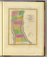 Map of the County of Seneca. By David H. Burr. Published by the Surveyor General, pursuant to an Act of the Legislature. Entered according to an Act of Congress Jany. 5th. 1829 by David H. Burr of the State of New York. Engd. by Rawdon, Clark & Co., Albany & Rawdon, Wright & Co., N. York.