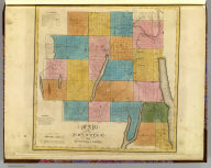 Map of the counties of Ontario & Yates. By David H. Burr. Published by the Surveyor General, pursuant to an Act of the Legislature. Entered according to an Act of Congress Jany. 5th. 1829 by David H. Burr of the State of New York. Engd. by Rawdon, Clark & Co., Albany & Rawdon, Wright & Co., N.Y.