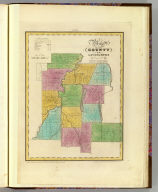 Map of the County of Livingston. By David H. Burr. Published by the Surveyor General, pursuant to an Act of the Legislature. Entered according to an Act of Congress Jany. 5th. 1829 by David H. Burr of the State of New York. Engd. by Rawdon, Clark & Co., Albany & Rawdon, Wright & Co., N. York.
