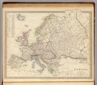 Europe. Published under the superintendence of the Society for the Diffusion of Useful Knowledge. Published by Baldwin & Cradock, 47 Paternoser Row Feby. 1st. 1836. J. & C. Walker sculpt. Printed by Russell, Penge, Surrey. (London: Chapman and Hall, 1844)
