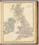 The British Isles. Published under the superintendence of the Society for the Diffusion of Useful Knowledge, 59 Lincolns Inn Fields, April 1842, by Chapman & Hall 186 Strand. J. & C. Walker sculpt. (1844)