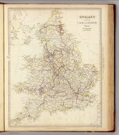 England with its canals and railways. Published under the superintendence of the Society for the Diffusion of Useful Knowledge. London, published by Baldwin & Cradock, 47 Paternoster Row Octr. 1st. 1837. Engd. by J. & C. Walker. (London: Chapman and Hall, 1844)