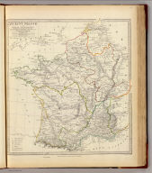 Ancient France or Gallia Transalpina by T. Hewett (sic) Key ... Published under the superintendence of the Society for the Diffusion of Useful Knowledge. Engraved by J. & C. Walker. Published by Baldwin & Cradock, 47 Paternoster Row, August 1831. (London: Chapman and Hall, 1844)