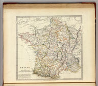 France in provinces. By T. Hewett (sic) Key ... Published under the superintendence of the Society for the Diffusion of Useful Knowledge. Engraved by J. & C. Walker. Published by Baldwin & Cradock, 47 Paternoster Row, August 1831. (London: Chapman and Hall, 1844)