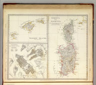 Corsica and Sardinia. Published under the superintendence of the Society for the Diffusion of Useful Knowledge. (with) Belearic Islands. Las Baleares. (with) Valetta, the capital of the island of Malta. J. & C. Walker sc. Published Novr. 1st. 1831, by Baldwin & Cradock, 47 Paternoster Row, London. (London: Chapman and Hall, 1844)