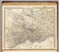 Germany. Deutschland I. Holstein, Hanover, Mecklenburg, the Prussian States, Saxony &c. Published under the superintendence of the Society for the Diffusion of Useful Knowledge. J. & C. Walker sculpt. London, published by Baldwin & Cradock, 47 Paternoster Row, March 1st, 1833. Printed by Russell, Penge. (London: Chapman & Hall, 1844)