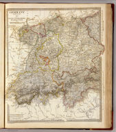 Germany. Deutschland III. Baden, Wurtemberg, Bavaria, Tyrol, and Switzerland. Eastern part of the Prussian States. Published under the superintendence of the Society for the Diffusion of Useful Knowledge. J. & C. Walker sculpt. London, published by Baldwin & Cradock, 47 Paternoster Row, June 1st. 1832. (London: Chapman & Hall, 1844)