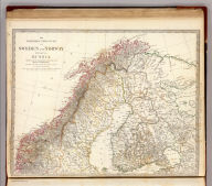 The northern provinces of Sweden and Norway and part of Russia. Published under the superintendence of the Society for the Diffusion of Useful Knowledge. J. & C. Walker sculpt. Published by Baldwin & Cradock, 47 Paternoster Row, Feby. 1st. 1834. (London: Chapman & Hall, 1844)