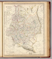 Russia in Europe. Part X, general map. Published under the superintendence of the Society for the Diffusion of Useful Knowledge. Engraved by J. & C. Walker. Published by Chapman & Hall, 186 Strand, Aug. 1st. 1840 (1844)