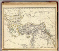 The Turkish Empire in Europe and Asia with the Kingdom of Greece. Engraved by J. & C. Walker. Published by the Society for the Diffusion of Useful Knowledge, 42 Bedford Sqre. Octr. 15th. 1843. (London: Chapman & Hall, 1844)