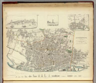 Liverpool. Published under the superintendence of the Society for the Diffusion of Useful Knowledge. Reduced & engraved by T. Starling. Printed by T. Starling. Published by Baldwin & Cradock, 47 Paternoster Row, Septr. 1836. (London: Chapman & Hall, 1844)