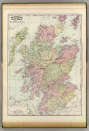 Rand, McNally & Company's indexed atlas of the world map of Scotland. Copyright 1891, by Rand, McNally & Co. ... (Chicago, 1897)