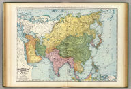 Rand, McNally & Company's indexed atlas of the world map of Asia. Copyright 1892, by Rand, McNally & Co. ... Engravers, Chicago, (1897)