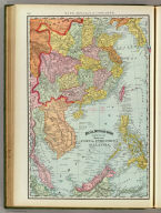 Rand, McNally & Co.'s new 14 x 21 map of China, Indo-China and part of Malaysia. (Chicago, 1897)