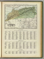 Rand, McNally & Company's indexed atlas of the world map of Algeria, Tunis, and Morocco. Copyright 1894, by Rand, McNally & Co. (Chicago, 1897)