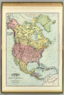 Rand, McNally & Co.'s indexed atlas of the world map of North America. Copyright 1892, by Rand, McNally & Co. ... Engravers, Chicago, (1897)