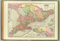 Rand, McNally & Co.'s indexed atlas of the world map of Ontario. Rand, McNally & Co's. New business atlas map of Ontario. Copyright, 1892, by Rand, McNally & Co. ... Engravers, Chicago. (1897)