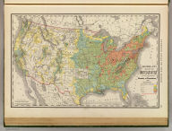Rand, McNally & Co.'s map of the United States showing, in six degrees, the density of population, 1890. Copyright, 1892, by Rand, McNally & Co. Chicago, (1897)