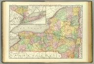 Rand, McNally & Co.'s New business atlas map of New York. Copyright, 1888, by Rand, McNally & Co. (Chicago, 1897)