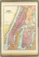 Rand, McNally & Co.'s indexed atlas of the world map of New York City. Rand, McNally & Co's New business atlas map of New York City. Copyright, 1892, by Rand, McNally & Co., Chicago. (1897)
