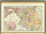 Rand, McNally & Co.'s New business atlas map of Maryland and Delaware. Copyright, 1893, by Rand, McNally & Co. (Chicago, 1897)