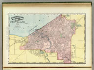 Rand, McNally & Co.'s indexed atlas of the world map of Cleveland. Rand, McNally & Co's New business atlas map of Louisville, Ky. Copyright, 1891 ... Rand, McNally & Co., Engravers, Chicago. (1897)