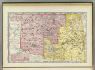 Rand, McNally & Co.'s New business atlas map of Indian Territory and Oklahoma. Copyright, 1892 ... Rand, McNally & Co., Engravers, Chicago. (1897)
