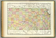 Rand, McNally & Co.'s New business atlas map of Kansas. Copyright, 1888, by Rand, McNally & Co. (Chicago, 1897)