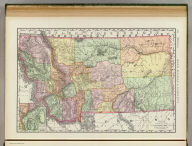 Rand, McNally & Co.'s new business atlas map of Montana. Copyright, 1893, by Rand, McNally & Co. (Chicago, 1897)