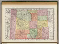 Rand, McNally & Co.'s indexed atlas of the world map of Wyoming. Copyright, 1891, by Rand, McNally & Co. (Chicago, 1897)
