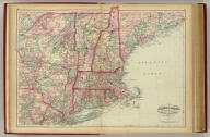Asher & Adams' New Hampshire, Vermont, Massachusetts, Rhode Island and Connecticut. Entered according to Act of Congress in the year 1874 by Asher & Adams ... at Washington. (New York, 1874)
