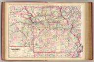 Asher & Adams' Missouri. Entered according to Act of Congress in the year 1874 by Asher & Adams ... at Washington. (New York, 1874)