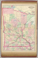 Asher & Adams' Minnesota. Entered according to Act of Congress in the year 1874 by Asher & Adams ... at Washington. (New York, 1874)