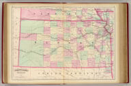 Asher & Adams' Kansas. Entered according to Act of Congress in the year 1874 by Asher & Adams ... at Washington. (New York, 1874)