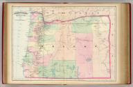 Asher & Adams' Oregon. Entered according to Act of Congress in the year 1874 by Asher & Adams ... at Washington. (New York, 1874)