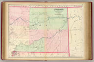 Asher & Adams' Montana eastern portion. Entered according to Act of Congress in the year 1874 by Asher & Adams ... at Washington. (New York, 1874)