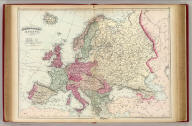 Asher & Adams' Europe. Entered according to Act of Congress in the year 1874 by Asher & Adams ... at Washington. (New York, 1874)