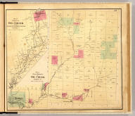 Plan of East Branch of Oil Creek, Warren Co. Plan of branch of Oil Creek between Centreville & Spartansburgh, Crawford Co. Entered ... 1865 ... Southern District of New York by F.W. Beers & Co. Ferd. Mayer & Co. Lithographers, 96 Fulton St., N.Y.