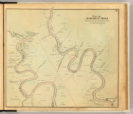 Plan of Allegheny River beginning at Clarion Co. line. Entered ... 1865 ... Southern District of New York by F.W. Beers & Co. Ferd. Mayer & Co. Lithographers, 96 Fulton St., N.Y.