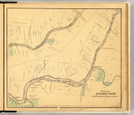 Plan of Allegheny River from President to Warren Co. line. Entered ... 1865 ... Southern District of New York by F.W. Beers & Co. Ferd. Mayer & Co. Lithographers, 96 Fulton St., N.Y.